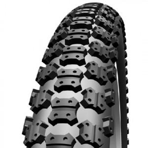 Buitenband  DELI 47-305 (16x1.75) BMX ZWART