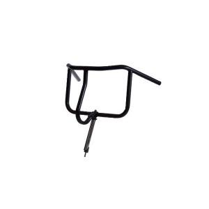 Steco ukkie-mee (moederstuur) mat-zwart