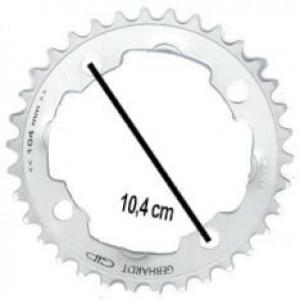 Kettingblad 32T 104 mm zilver cebhardt